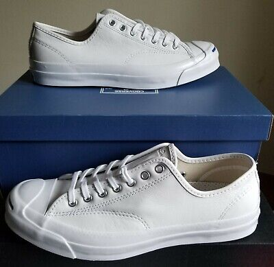 514448aadfac NEW AUTHENTIC CONVERSE Jack Purcell Signature Leather Ox Men s 13 ...