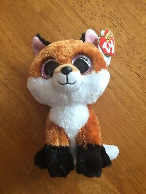 Ty Beanie Boos Fox In Excellent Condition With Tag