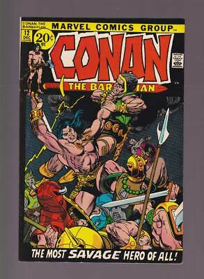 Conan the Barbarian # 12  The Most Savage Hero of All !  grade 9.0 scarce book !