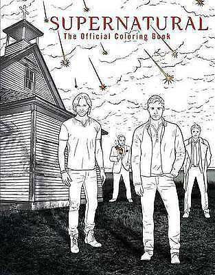Very Good, Supernatural: The Official Coloring Book, , Book