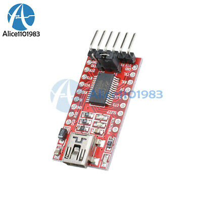 FT232RL FTDI Serials Adapter Module Mini Port f. Arduino USB to TTL 3.3V 5.5V