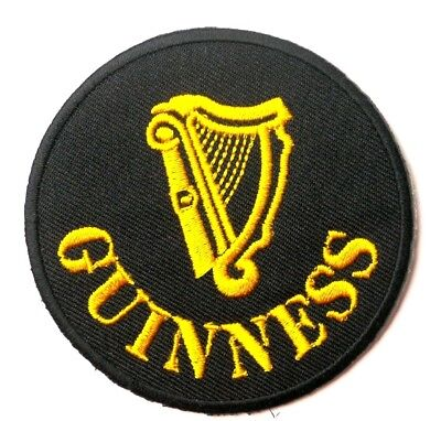 Patch Ecusson Brode Thermocollant Biere Guinness