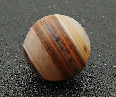 Old agate Brown Stripe Middle East Eye Old Agate bead