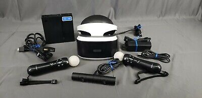 Sony Playstation VR Headset CUH-ZVR1 w/Accessories & (1) Game (20341-1OE)