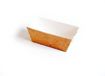 Ovenable Bakery Mould / Easy Bake Tray, 80x40x40mm, Individual Small Loaf Cake