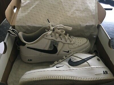 Men's nike air force 1 '07 lv8 utility White Size 5.5 Excellent Cond