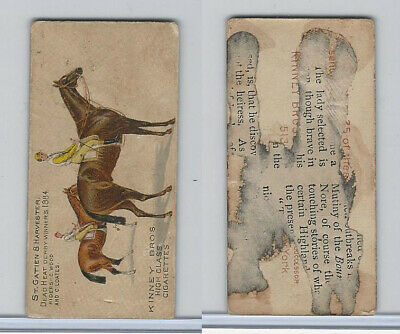 N230 Kinney, English Horses, 1889, St. Gatien & Harvester, Wood & Loates