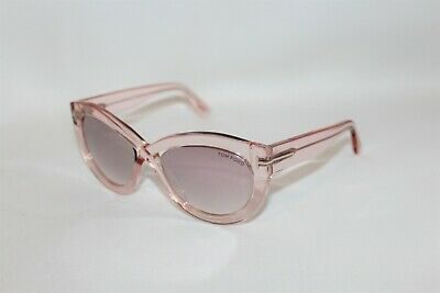 38469f38fadf Authentic Tom Ford TF577-72Z Diane 02 Champagne Pink Sunglasses 56 19 140
