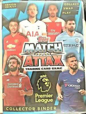 Match Attax 2018/19 Full 18 Card Team Sets Buy 1 Get 1 Free Mint Condition