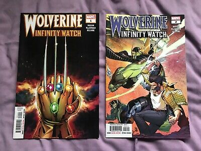 Wolverine and the Infinity Watch issues 1+2 (Gerry Duggan/Andy MacDonald)