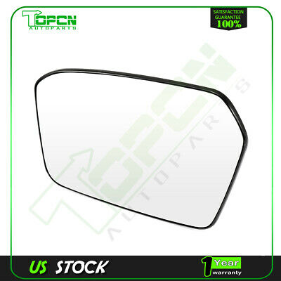 For 2006 2010 Ford Fusion Side Mirror Chrome Flat Gl Left Driver