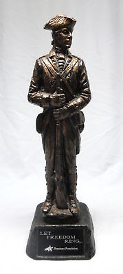 Walter E Lee Let Freedom Ring Freedoms Foundation Statue Sculpture 25''