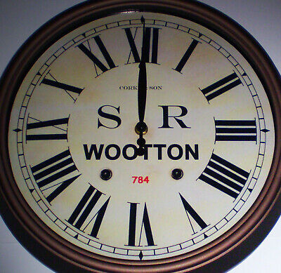 Southern Railway SR Historic Style Station Clock, Wootton Station