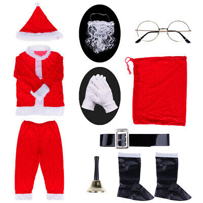 K354NW Inflatable Santa Claus Costume Suit Funny Christmas Xmas Fancy Dress Up