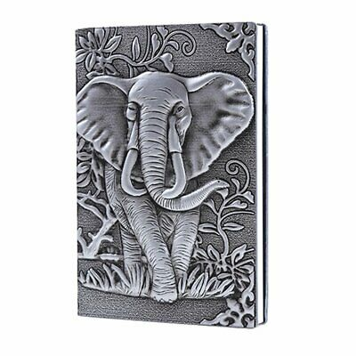 Writing Notebook Antique Handmade Daily Elephant Gift for Men Women Diary