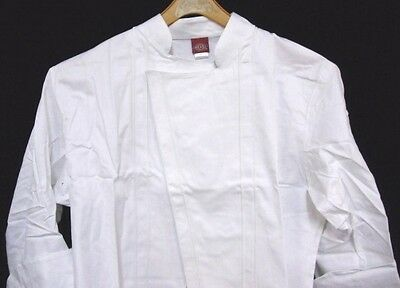 Dickies Executive Chef Coat 52 White Changeable Buttons Topstitch CW070103 New