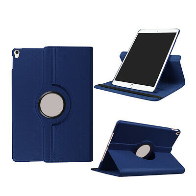 Leather 360 Degree Rotation Smart Stand Case Cover For iPad AIR 2 A1566 A1567