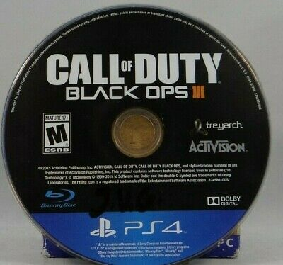 Call of Duty: Black Ops III (SONY PlayStation 4,2015) Disc Only !!
