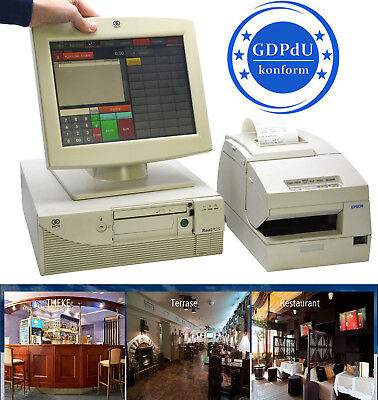 Cash Register System Ncr Screen Receipt Printer Epson Tmh6000 Catering Dealer