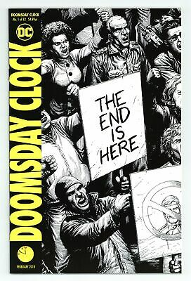 Doomsday Clock (DC) 1E 2018 Frank Variant 2nd Printing VF/NM 9.0