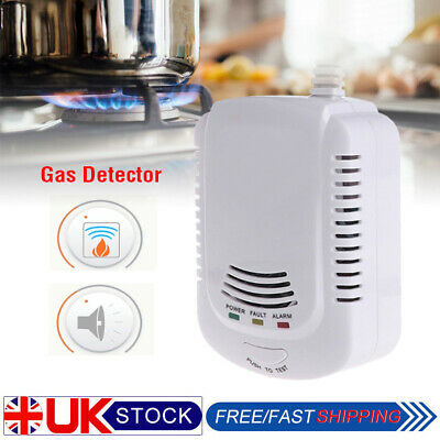 Gas Leak Detector Propane Butane Methane Natural Gas Safe Alarm Sensor Tool UK
