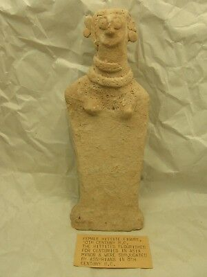 Ancient Hittite Female Fertility Figure