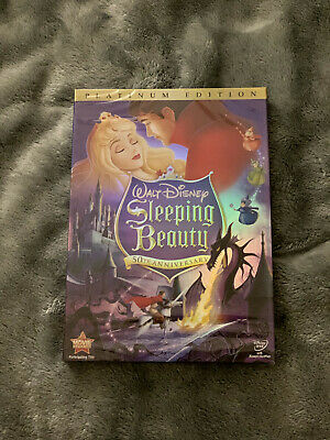 Disney's Sleeping Beauty DVD, Platinum Edition, Brand New, FREE SHIPPING
