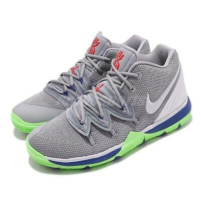 bcef435f7de Nike Kyrie 5 PS V Irving Wolf Grey Lime Kid Preschool Shoes Sneakers  AQ2458-099