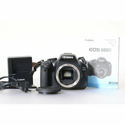 Canon Eos 600d DSLR Body / 18.0mp Digital Camera/Camera with 1650 Releases