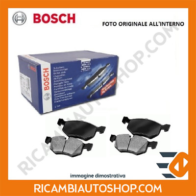 Kit Pastiglie Freno Posteriore Bosch Fiat Punto 1.4 Natural Power Kw:57 2012> 09