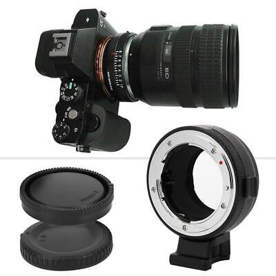 Commlite CM-NF-NEX Adapter Ring for Nikon Lens to Sony E Mount Camera A7R2 A9