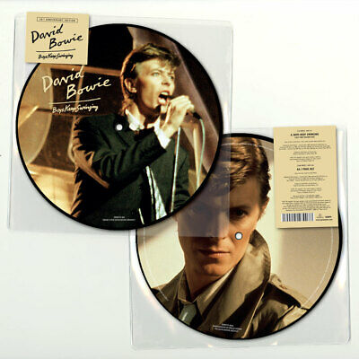 """David Bowie: Boys Keep Swinging 40th Anniversary Picture Disc Vinyl 7"""" Record"""