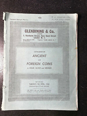 GLENDINING & Co. - CATALOGUE OF ANCIENT AND FOREIGN COINS 1968