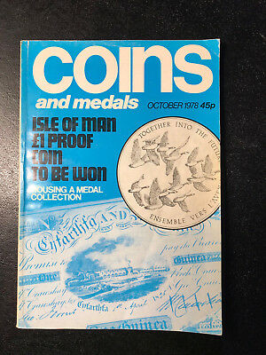 Coins and Medals magazine OCTOBER 1978