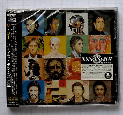 THE WHO - Face Dances + 5 Bonus Remix REMASTER JAPAN CD OBI NEU POCP-2556 SEALED