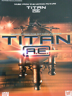 Popoff - Music from the Motion Picture Titan A.E. - Guitar, Vocal, Chords