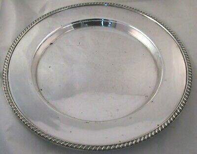 A Good 19th Century Silver Plated Dinner Plate / Platter - Harrison Fisher