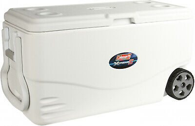 Coleman Xtreme 5-100 Qt. Wheeled Cooler- Heavy Duty- Keep Ice Cold Up To 5 Days!