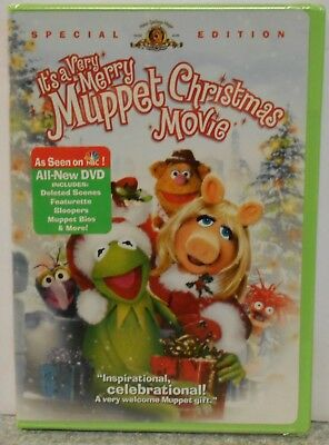 Its A Very Merry Muppet Christmas Movie (DVD, Special Edition) RARE BRAND NEW