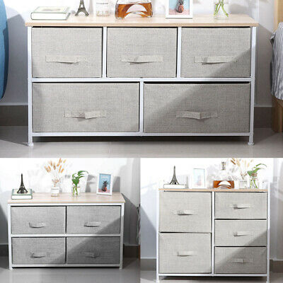 Bedside Cabinet w/ drawers Table Night Stand Storage Unit Chest Of /4/5 Drawers