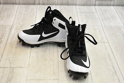 the best attitude 2b020 a2cc9 Nike Kids Alpha Huarache Pro Mid Baseball Cleats, Little Boy s 13, Black  White