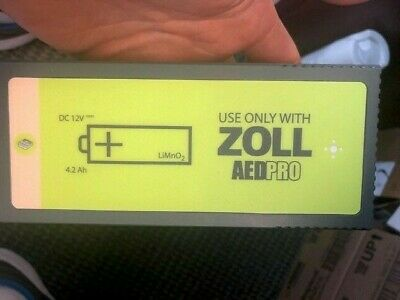 ZOLL AED Pro Non Rechargeable OEM Lithium Battery 1008-002003-01 READ