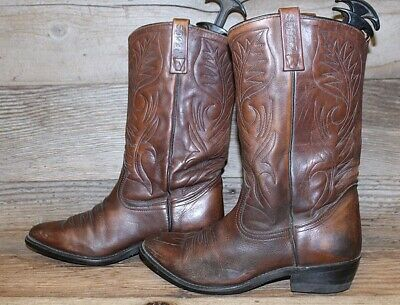 adbdaedb6ee MENS COWBOY BOOTS wing tip ostrich and bull hide 9ee with zipper on ...
