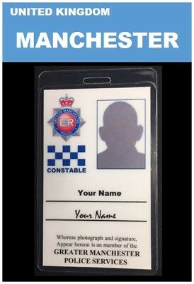 international ID collection... UNITED KINGDOM... Vertical Card  <<MANCHESTER>>