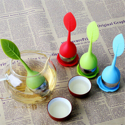 Tea Infuser Loose Tea Leaves Strainer Silicone Herbal Spice Filter Diffuser Ball