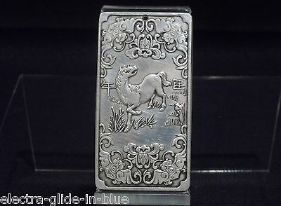 Chinese Silver Imperial Decorative Calendar Plaque Cp001