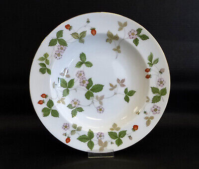 Wedgwood 'Wild Strawberry' Suppenteller 22,5 cm neu!