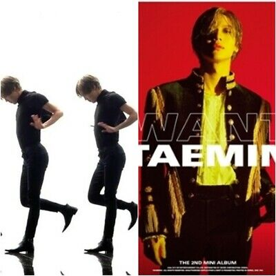 SHINEE TAEMIN: Want 2nd Mini Album* Full Package Poster (CD, SM) K-POP New Seal