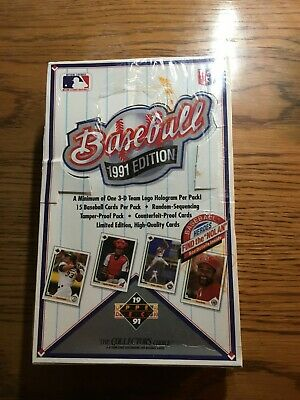 Sports Trading Cards & Accessories 1991 UPPER DECK UNOPENED WAX BOX VINTAGE BASEBALL CARDS FACTORY SEALED sports memorabilia