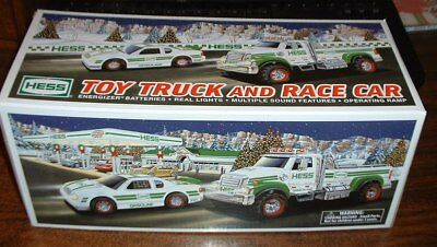 Hess Gasoline '11 Toy Truck and Race Car